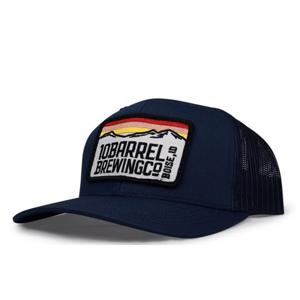 10 Barrel Gear Boise Mountain Patch Hat
