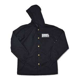 10 Barrel Gear Black Coaches Jacket