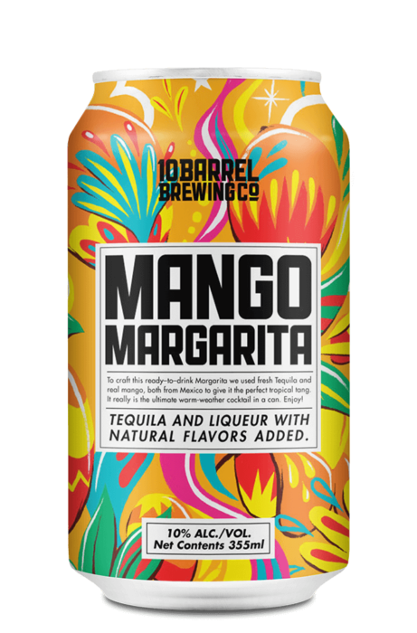 Mango Margarita with real Tequila by 10 Barrel Brewing Company, Bend, OR since 2006
