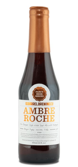 2019 Ambre Roche by 10 Barrel Brewing Company, Bend, OR since 2006